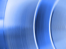 Matériau bleu et abstrait Illustration Libre de Droits