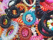Matériau coloré Photographie stock libre de droits
