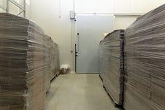 Matériau d'emballage Photo libre de droits