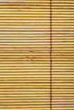 Matériau de configuration de rideau en bambou Images libres de droits