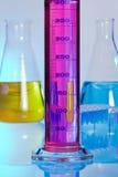 Matériau de de laboratorio cristal Photographie stock libre de droits