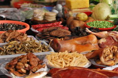 Matériau de nourriture pour la cuisson Photographie stock