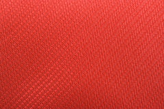 Matériau de textile rouge Photos stock