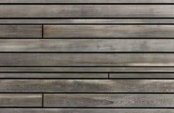 Matériau en bois avec les lignes foncées Images libres de droits