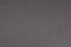 Matériau noir texturisé de leatherette Images libres de droits