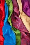 Matériaux colorés Photo stock