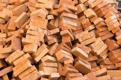 Matériaux d'immeuble de brique photo libre de droits