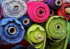 Matériaux de Colorfull sur des petits pains photos libres de droits