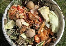 Matériaux de compost Photographie stock libre de droits