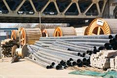 Matériaux de construction photo stock