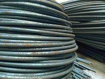 matériaux de construction, tige en acier photographie stock libre de droits