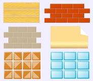 Matériaux de finissage pour la rénovation à la maison illustration stock