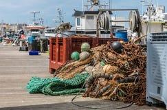 Matériaux de pêche photographie stock
