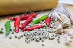 Matériaux pour la cuisson Photo stock