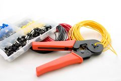 Matériel électrique Photo stock