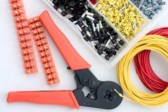 Matériel électrique Images stock