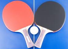 Matériel 5 de ping-pong Photos libres de droits