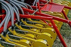 Matériel agricole. Petits groupes   Photos stock