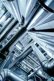 Matériel, câbles et tuyauterie Photographie stock libre de droits