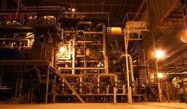 Matériel, câbles et tuyauterie Images stock
