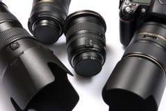 Matériel d'appareil-photo image libre de droits