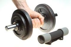 Matériel d'exercice de forme physique Photographie stock