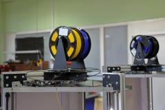 matériel d'impression 3D photo stock