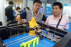 matériel d'impression 3D en fonction Photos libres de droits