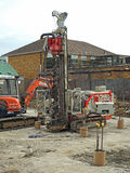 Matériel d'usine lourd de chantier Photo libre de droits