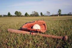 Matériel de base-ball Images libres de droits