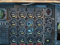 Matériel de carlingue d'avion photos stock