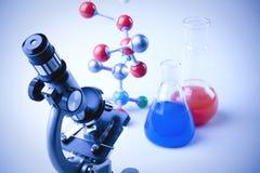 Matériel de chimie Photo libre de droits
