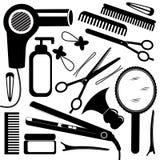 Matériel de coiffure Image libre de droits