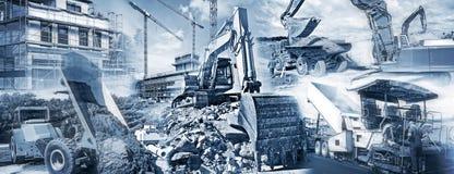 Matériel de construction et chantiers photographie stock libre de droits