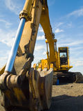Matériel de construction lourd Photographie stock libre de droits