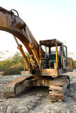 Matériel de construction lourd Photo libre de droits