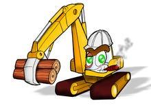 Matériel de construction lourd Images libres de droits
