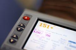 Matériel de contrôle de fréquence cardiaque Image stock