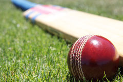 Matériel de cricket. Photographie stock