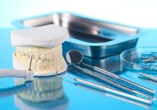 Matériel de dentiste Images stock