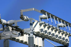 Matériel de distribution d'énergie photos libres de droits