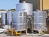 Matériel de effectuer de vin sur le Long Island Images stock