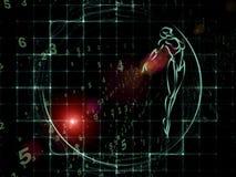 Matériel de la géométrie Image stock