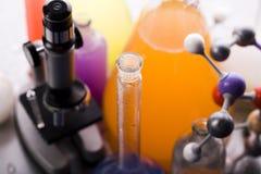 Matériel de laboratoire photo stock