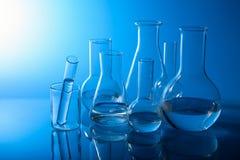 Matériel de laboratoire chimique photo stock