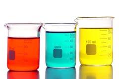 Matériel de laboratoire dans le laboratoire de recherches de la Science Photographie stock libre de droits