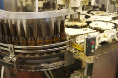 Matériel de mise en bouteilles Photos stock