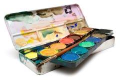 Matériel de peinture Photos stock