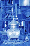 Matériel de production de biodiesel dans une usine Image stock