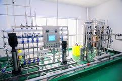Matériel de purification d'eau Photo libre de droits